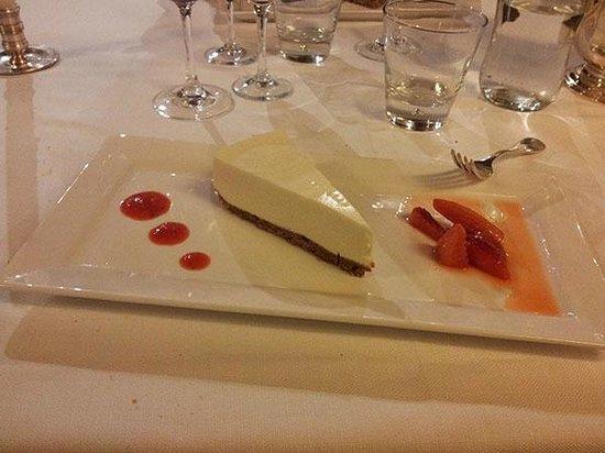 Park Hotel Ai Cappuccini: Cheesecake alla fragola