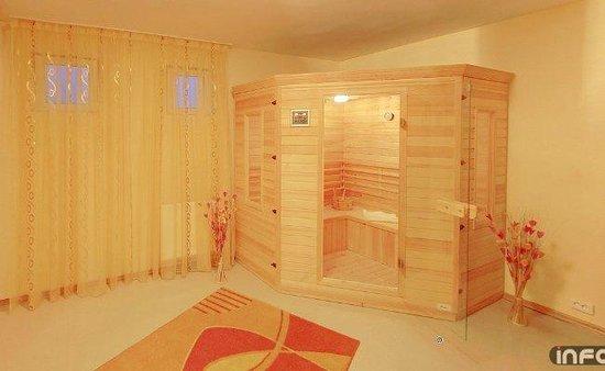 Hotel Fortuna: sauna