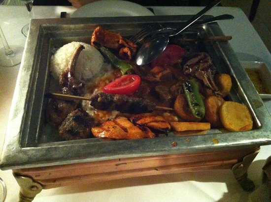Armada Terrace Restaurant : Uno dei piatti proposti dal menu