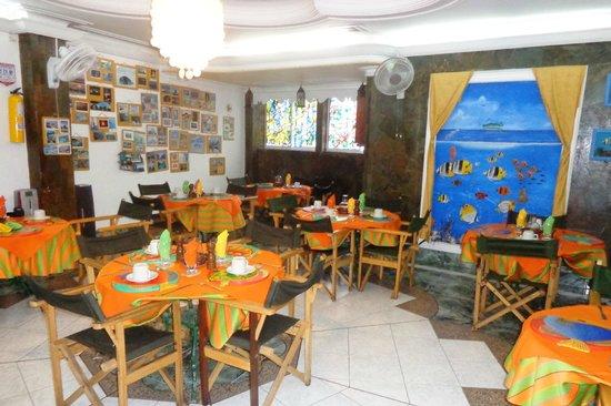 San Andres Noblehouse Hotel: Sala do café da manhã