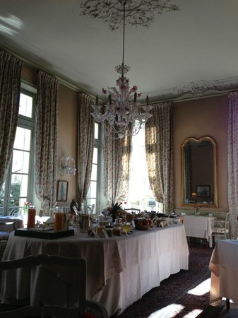 La Mirande Hotel: Breakfast Room