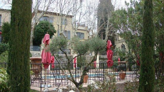 Villa Gallici : Vue de l'hôtel