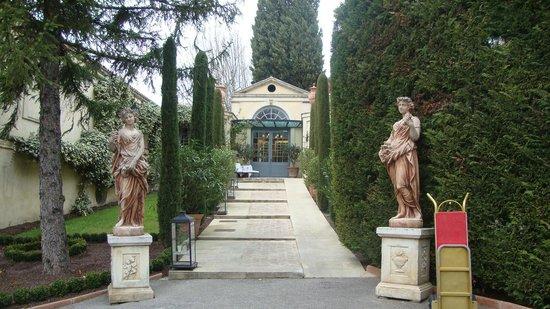 Villa Gallici : Réception de l'hôtel