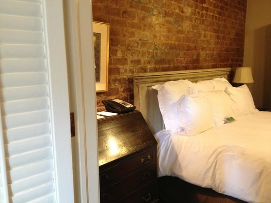 Audubon Cottages: One of the bedrooms.