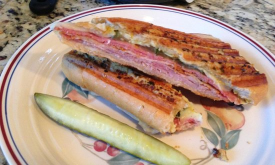 The Filling Station Deli Sub Shop: The High Test Cuban