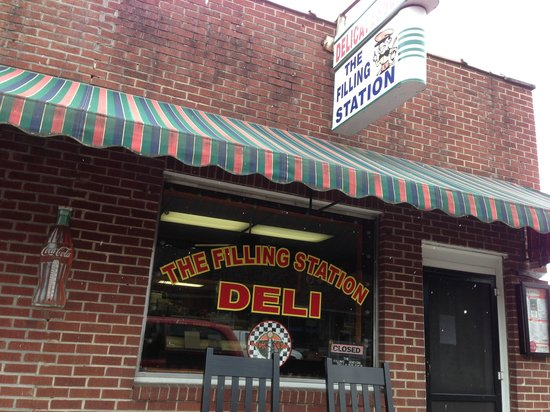 The Filling Station Deli Sub Shop: The Filling Station