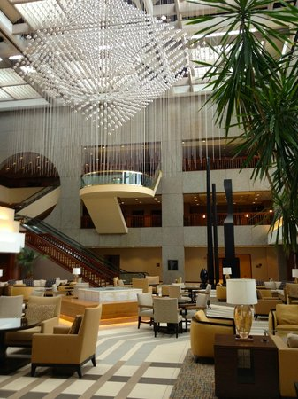 Sheraton Kansas City Hotel at Crown Center: lobby