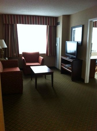 Homewood Suites by Hilton Chicago-Downtown: Kiving Area