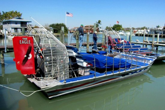 American Airboat Tours - Eagle
