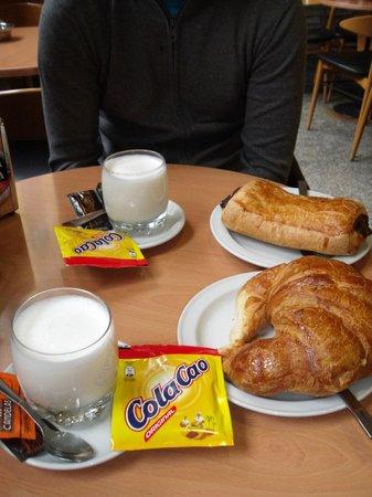 Hostal San Roque : Desayuno