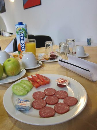 Hotel Nord: Breakfast