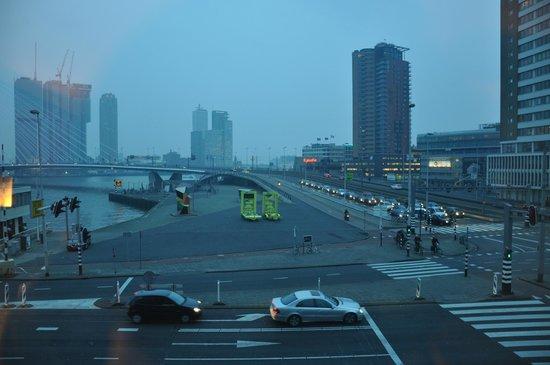 Inntel Hotels Rotterdam Centre: Der Panoramaausblick aus dem dritten Stock