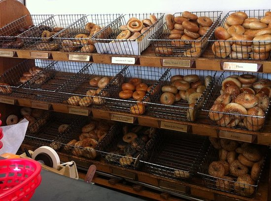 The Bagel: bagel choices