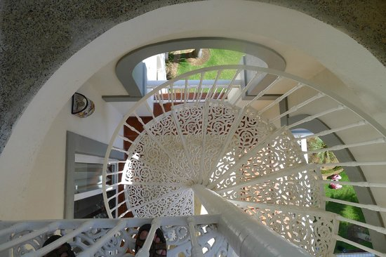 ClubHotel RIU Jalisco: staircase to penthouse suite