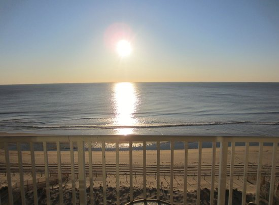 Quality Inn & Suites Beachfront Ocean City: View from Balcony!