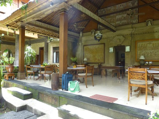 Alam Indah: Breakfast/Reception Area