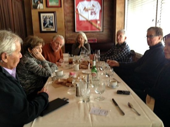 Dominic's Trattoria : 8 Good Friends on a Rare Occasion of All Being Together
