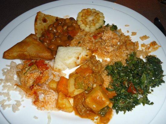 Mawe Resort: Cena swahili