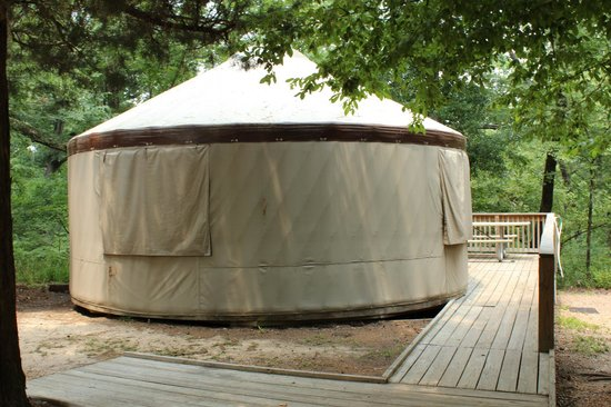 Torreya State Park: Yurt Camping