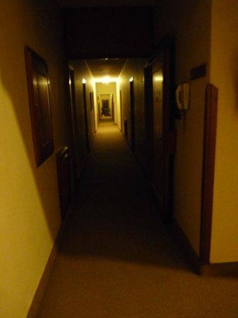 Corredor de las habitaciones