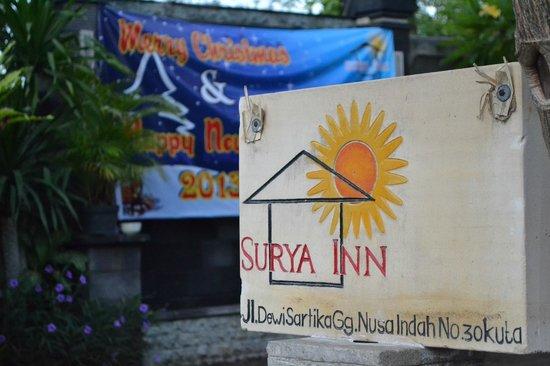 Surya Inn: Christmas Banner 2012 =)