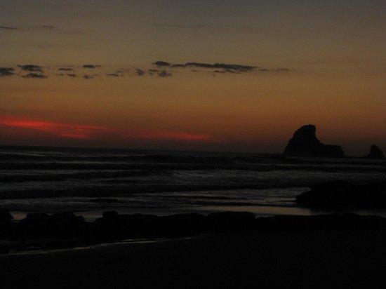 Rancho Cecilia Nicaragua: Sunset, Playa Maderas