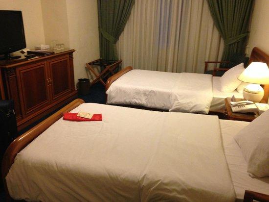 Amman International Hotel: Room reasonably sized