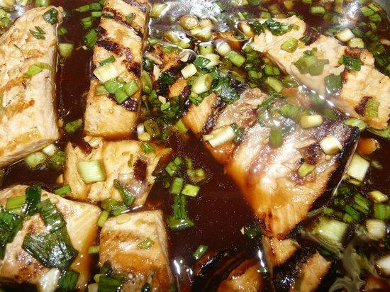 Sand Wedge Deli & Catering: Teriyaki salmon