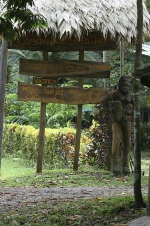 Casitas de Punta Uva: letreros