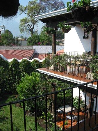 Casa Madeleine: Interior courtyard