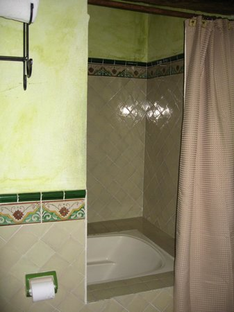 "Casa Madeleine: ""Suite"" soaking tub/shower combo"