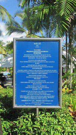 Melia Bali Indonesia: Pool