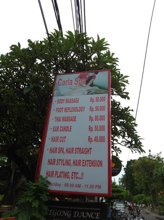 Carla Spa: price