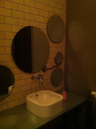 The Cheshire: woman's restroom Basso