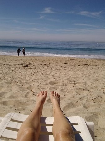 DoubleTree Suites by Hilton Doheny Beach - Dana Point: Enjoying the beach