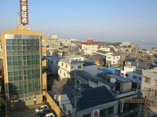 Hotel Livemax Iyo-Mishima: The view towards the Inland Sea