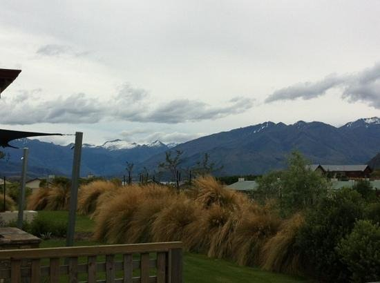 Websters on Wanaka Lodge: the view from the deck;)