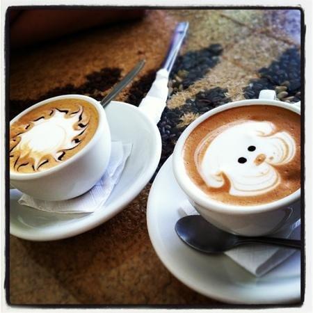 Libelula Coffee Shop: hot mocha