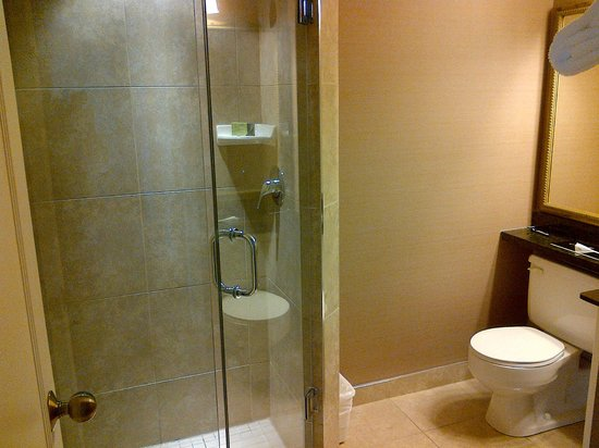 Albert at Bay Suite Hotel: Ensuite shower