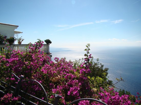 Hotel Margherita: View of the Amalfi Coast from Nocelle