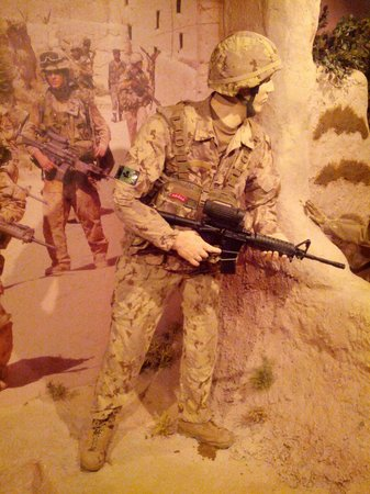 The Military Museums: One of the many real scale models