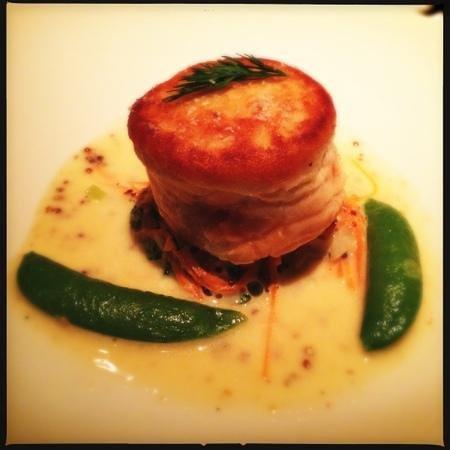 Restaurant Gary Danko: Salmon