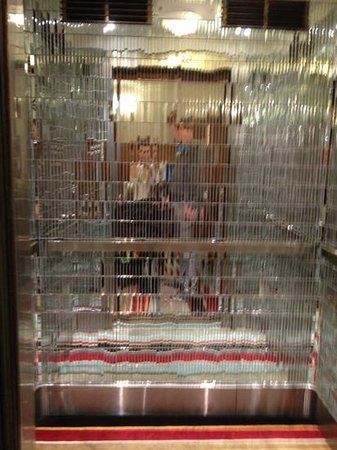 Hotel DeBrett: The Mirrored Lift