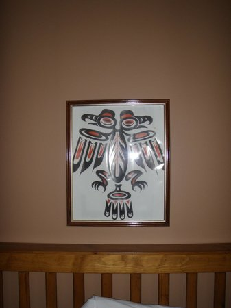 Heffley Boutique Inn : I enjoyed the Native American artwork!