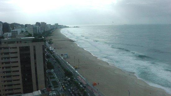 Hotel Marina Palace Rio Leblon: View from the hotel/room 16 floor