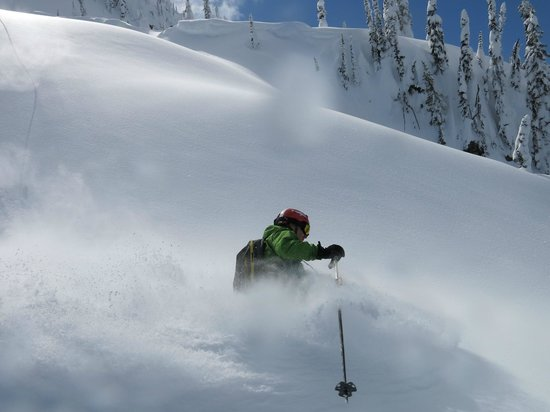 Eagle Pass Heliskiing: Spring blower in the Monashees