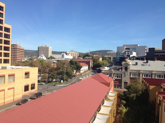 The Old Woolstore Apartment Hotel: Studio Apartment, Level 8 View