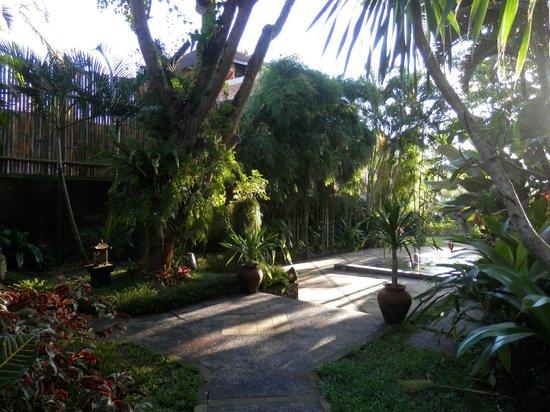 Ubud Villas and Spa: Jasmine Suite gardens