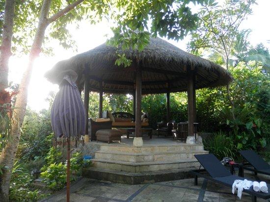 Ubud Villas and Spa: Jasmine Suite pergola