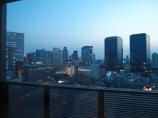 Harmonie Embrassee Osaka: 部屋からの眺望
